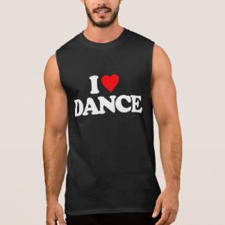 I LOVE DANCE SLEEVELESS SHIRT