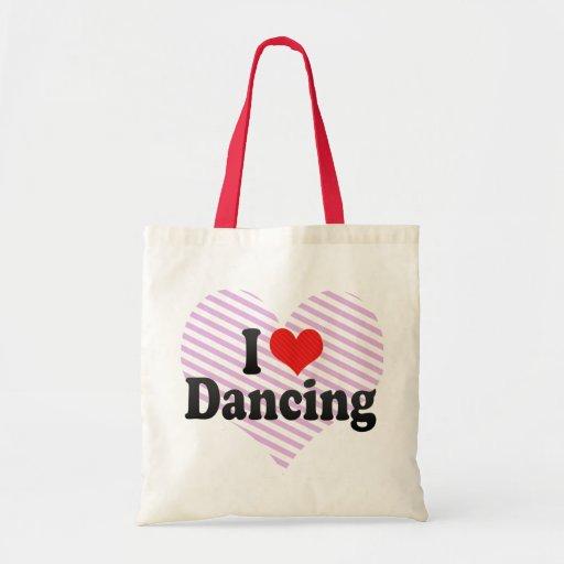 I Love Dancing Budget Tote Bag