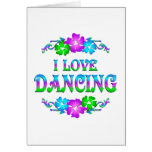 I LOVE DANCING CARDS