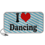 I love Dancing iPod Speakers