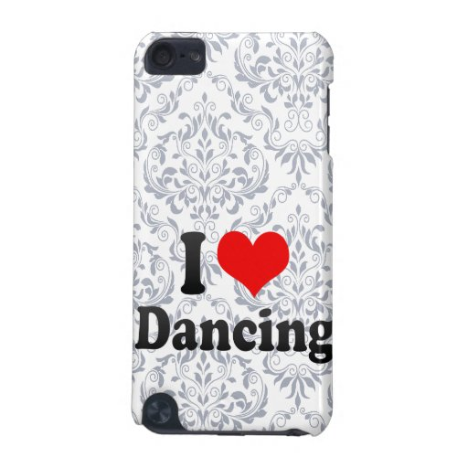 I love Dancing iPod Touch (5th Generation) Cover