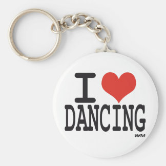 I love dancing keychains