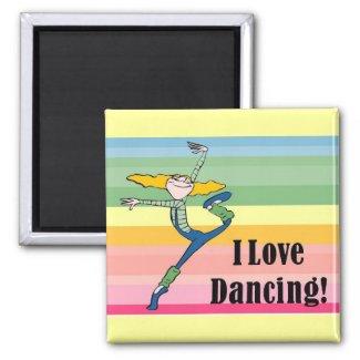 I love dancing magnet magnet