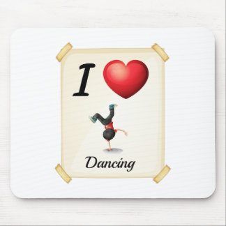 I love dancing mouse pad