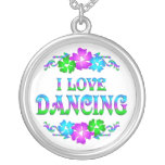 I LOVE DANCING NECKLACE