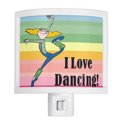 I love dancing nightlight