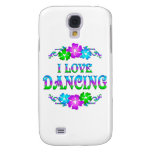 I LOVE DANCING SAMSUNG GALAXY S4 CASES