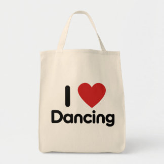 I Love Dancing Tote Bag