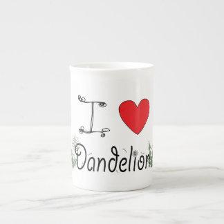 I Love Dandelion Mug for Foragers