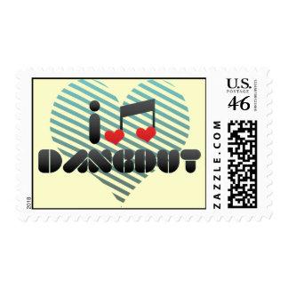 I Love Dangdut Stamps