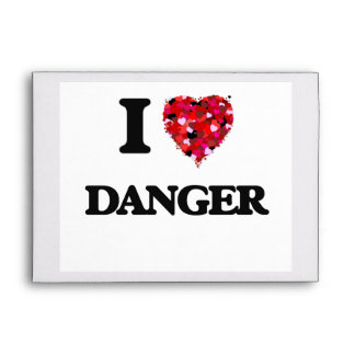 I love Danger Envelope