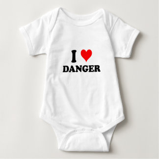 I Love Danger Tee Shirt