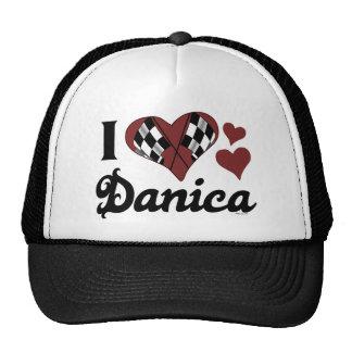 I Love Danica Hat