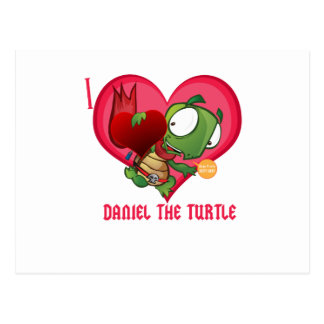 I love Daniel the Turtle Post Cards