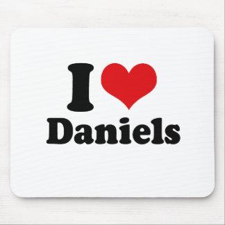I LOVE DANIELS MOUSE PAD