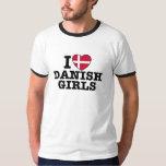 I Love Danish Girls T-Shirt