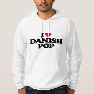 I LOVE DANISH POP HOODIE
