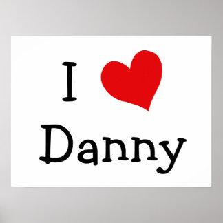 I Love Danny Poster