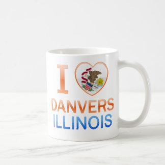 I Love Danvers, IL Coffee Mug