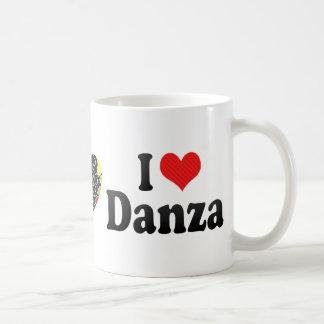 I Love Danza Classic White Coffee Mug