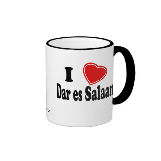 I Love Dar es Salaam Coffee Mug