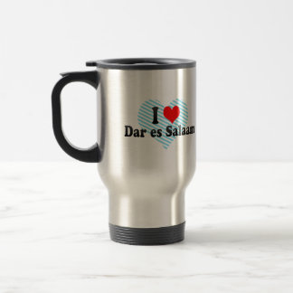 I Love Dar es Salaam, Tanzania Coffee Mugs