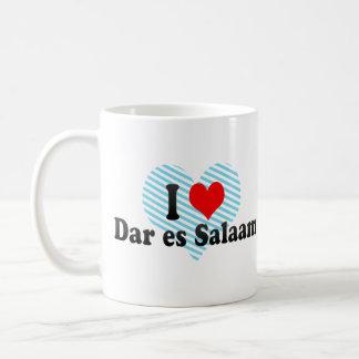I Love Dar es Salaam, Tanzania Mugs