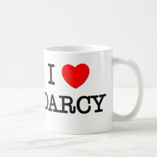 I Love Darcy Mug