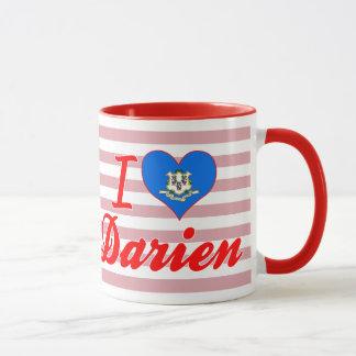 I Love Darien, Connecticut Mug