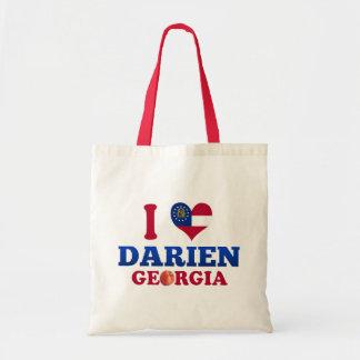 I Love Darien, Georgia Tote Bag