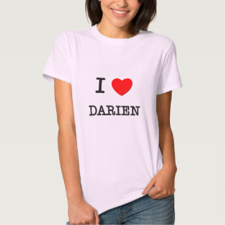 I Love Darien T Shirt
