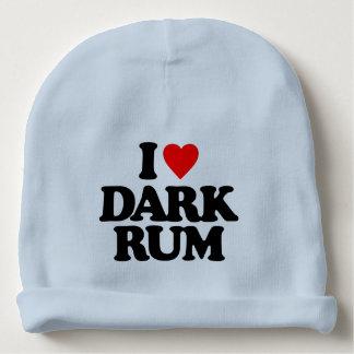 I LOVE DARK RUM BABY BEANIE