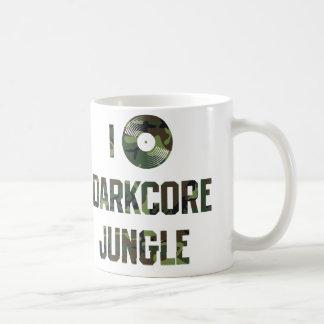 I love darkcore jungle coffee mug