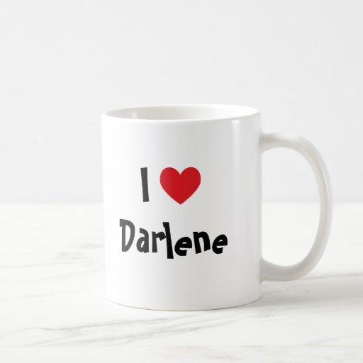 I Love Darlene Classic White Coffee Mug