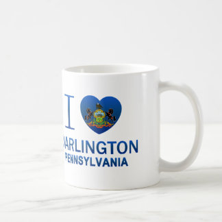 I Love Darlington, PA Classic White Coffee Mug