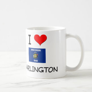 I Love Darlington Wisconsin Coffee Mug
