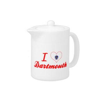 I Love Dartmouth, Massachusetts Teapot