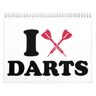 I love Darts Calendar