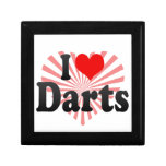 I love Darts Keepsake Box