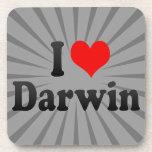 I love Darwin Beverage Coaster