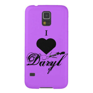 I love Daryl Phone Case Galaxy S5 Cover
