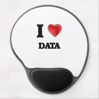 I love Data Gel Mouse Pad