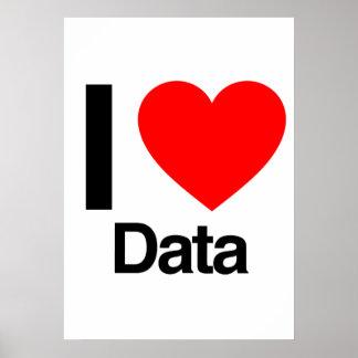 i love data poster
