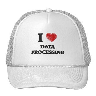 I love Data Processing Trucker Hat