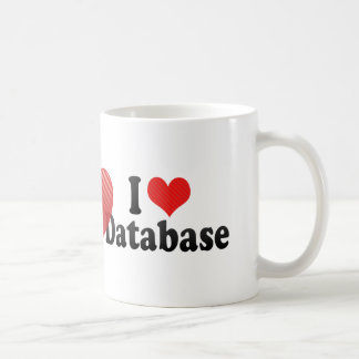 I Love Database Coffee Mug