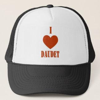 I Love Daudet Trucker Hat