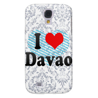 I Love Davao, Philippines Samsung S4 Case