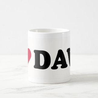 I LOVE DAVE COFFEE MUG
