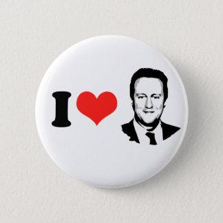 I Love David Cameron Pinback Button
