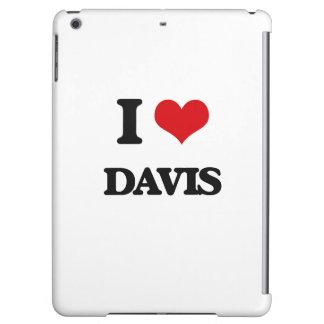 I Love Davis iPad Air Covers